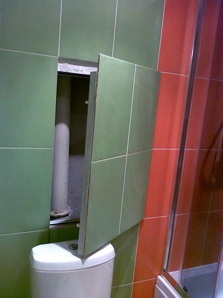Ремонты туалетов как спрятать трубы
