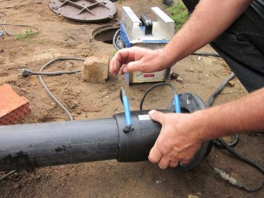 прокладка трубопровода из полипропилена