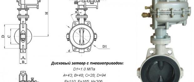 производство затворов дисковых