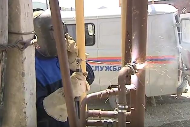 монтаж газовых труб