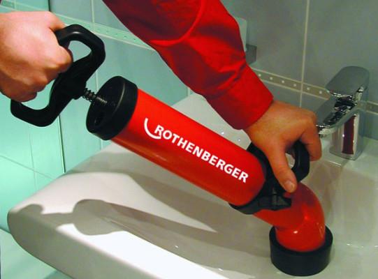 машина для прочистки канализации ротенбергер