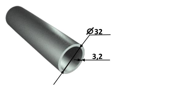 Труба водогазопроводная (ВГП) Ду 32 ГОСТ3262-75