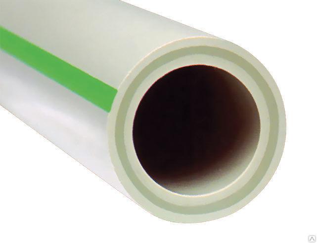 Полипропиленовая труба PPR Phaser PN20 D50 FV-Plast со стекловолокном