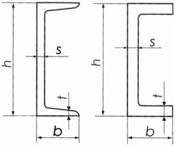 Швеллеры стальные горячекатаные ГОСТ 8240-97
