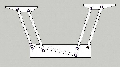 Механизм стола трансформера своими руками