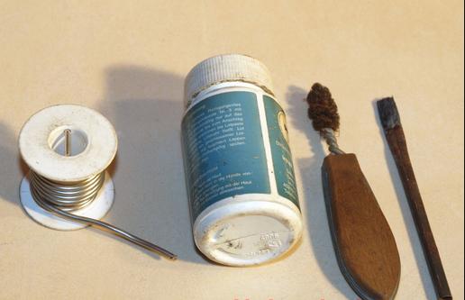 Материалы для пайки медных труб