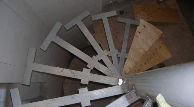 лестница из металла из профильной трубы