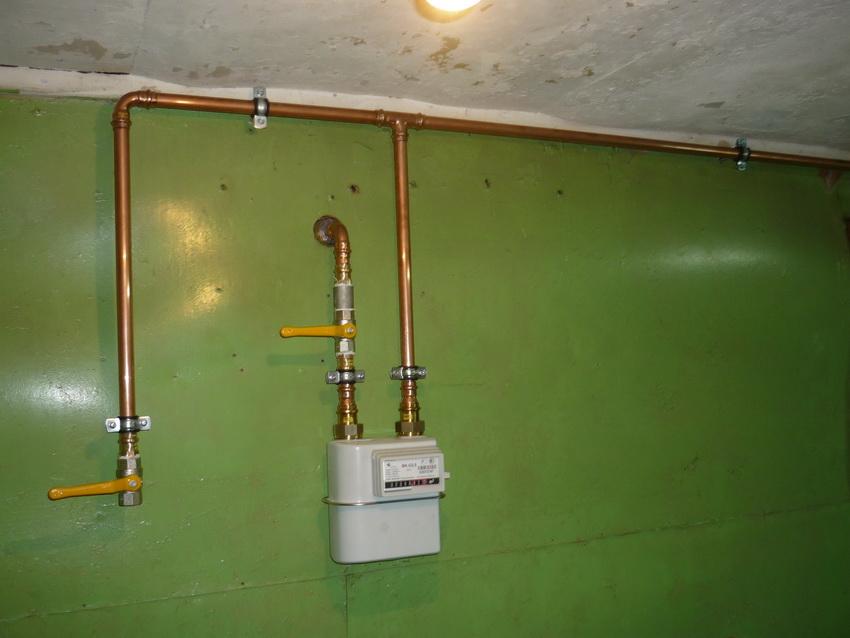 Особенности газопровода из медных труб