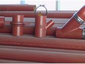 Безраструбные чугунные трубы SML с фасонными элементами