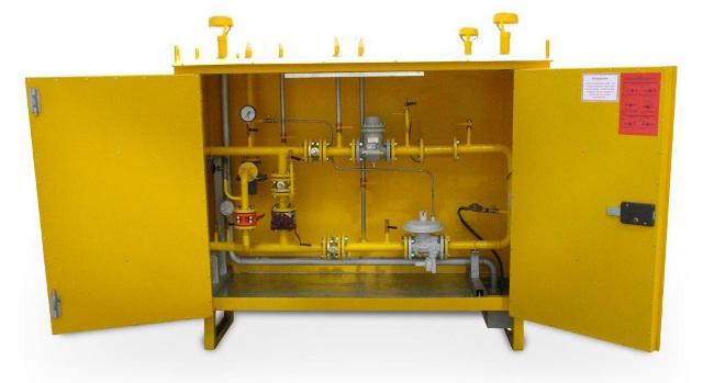 Счетчики на газопроводе могут быть установлены как с байпасным газопроводом, так и без байпасного газопровода.