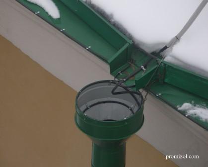 Обогрев водосточных труб