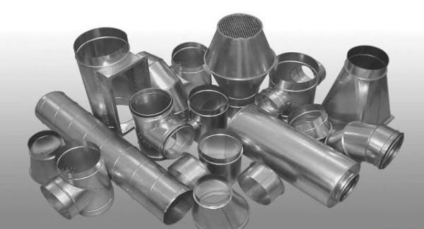 Фасонные элементы для сооружения вентиляции