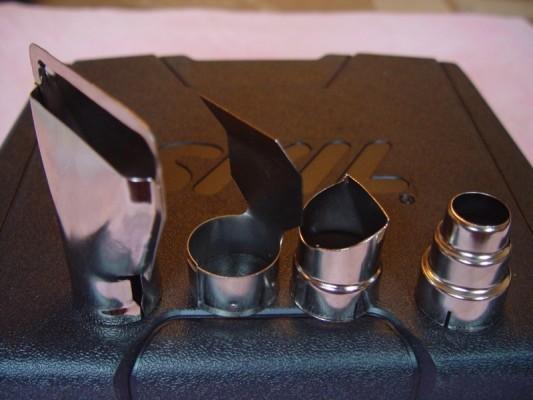 1) стеклозащитная насадка; 2) плоская насадка; 3) отражающая насадка; 4) сужающаяся насадка.